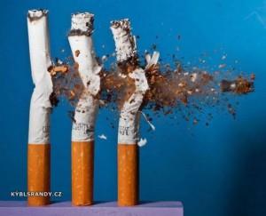 Odstřel cigaret