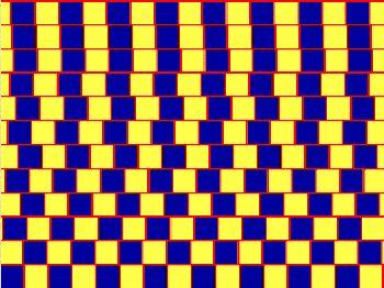 Jsou červené čáry rovnoběžné?