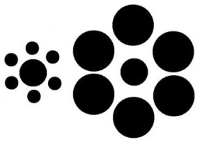 Optický klam kolečka