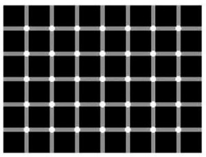 Bílé nebo černé tečky?