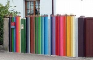 Pastelkový plot