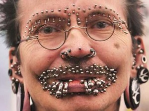 Piercingové šílenství