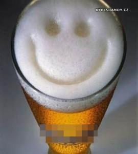 Pivní smajlík