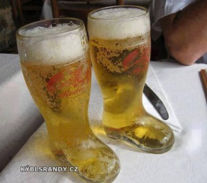 Pivo v botech