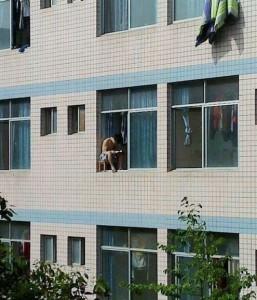Pohodička v okně