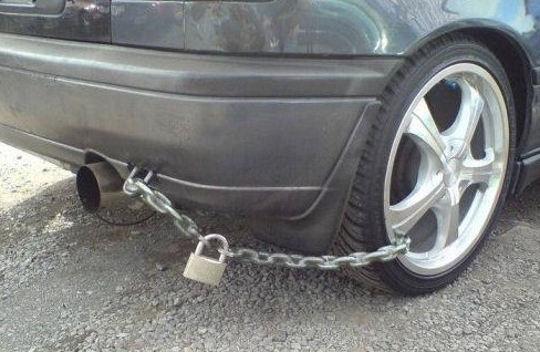 Pořádně zabezpečené auto
