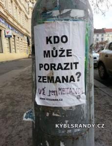 Kdo může porazit Miloše Zemana?
