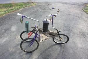 Prapodivné jízdní kolo