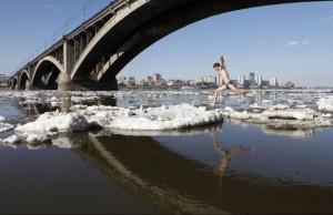 Přeběhne na krách řeku?