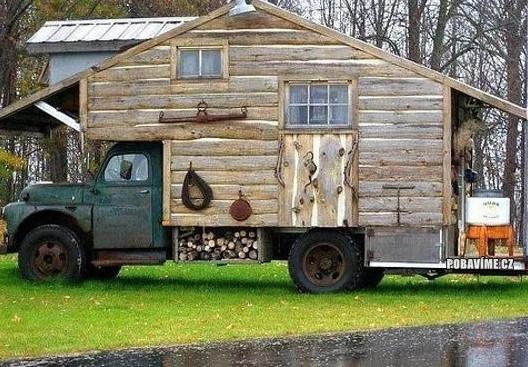 Přenosný dům