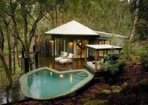 Půvabné místo pro relax