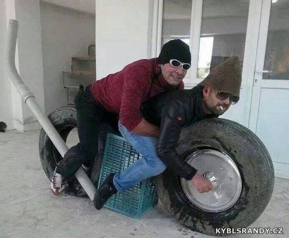 Rádoby motorka