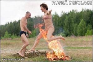 Ruská depilace