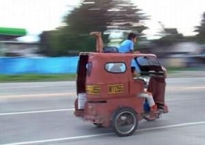 S rikšou jako o závod