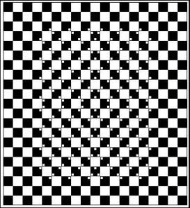 Nerovná šachovnice?