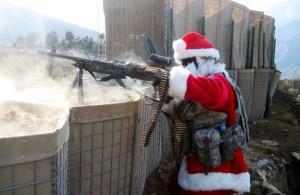 Santa bojovník