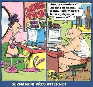 Seznámení přes internet