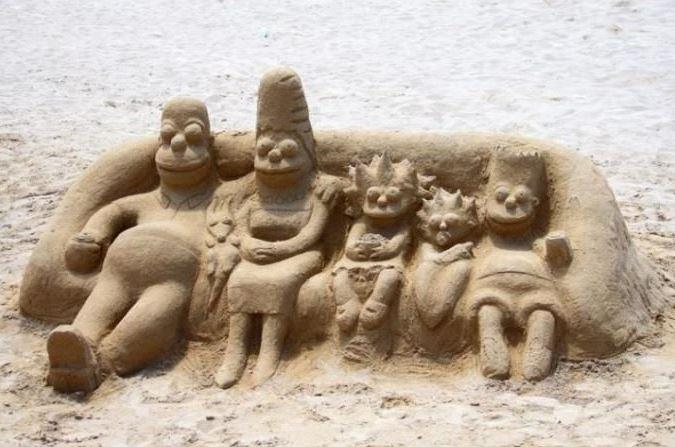 Simpsonovi na pláži