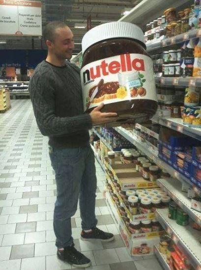 Skutecně velká Nutella