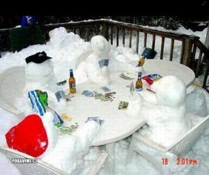 Sněhuláčí sešlost