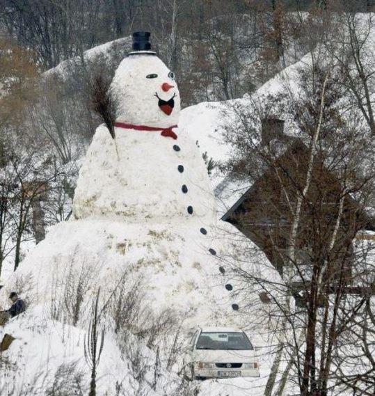 Sněhulák obr