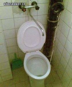 Zajímavé splachování WC