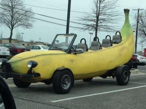 Super jízda na banánu