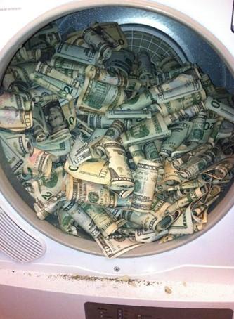 Sušíme peníze