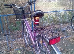 Pohřební světlo na kolo