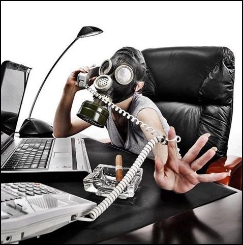 Telefonování v masce