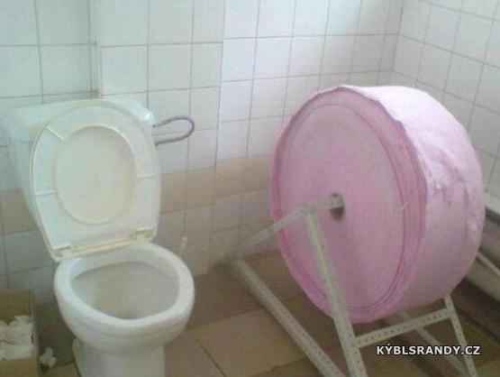 Tento toaleťák nikdo nekradne