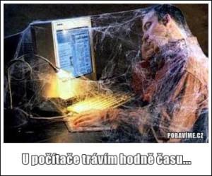 U počítače jsem vždycky dlouho