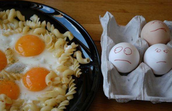 Chudáci vajíčka