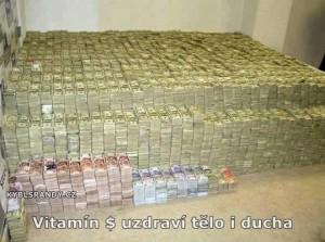 Vitamín $ uzdraví tělo i ducha