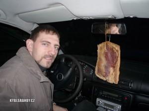Nová vůně do auta
