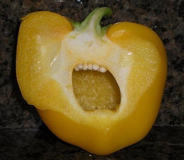 Vyděšená paprika
