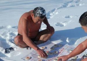 Zábava ve sněhu