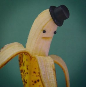 Zábavný banán