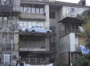 Zajímavé parkování