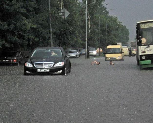 Záplavy nám nevadí
