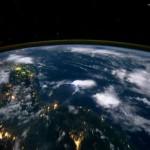 Pohled na Zeměkouli z vesmíru