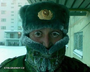 Zima jako v ruským filmu